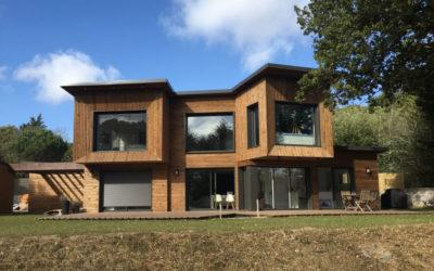 Maison à ossature bois par Vie Bois en Vendée