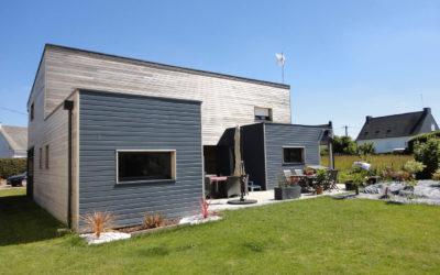 Maison à ossature bois en Bretagne par JMP Menuiserie