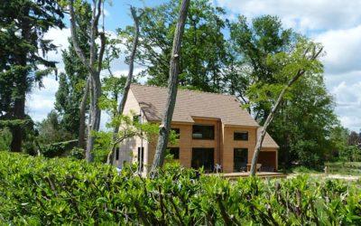 Maison ossature bois à Saint-Denis en Val (Loiret) par BAC Maisons Bois