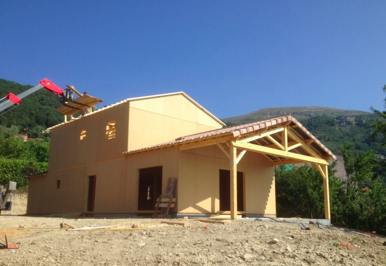 Maison en bois gard ventana blog for Constructeur de maison en bois dans le 34