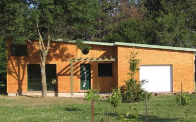 Maison à ossature bois O'Maley 4 par les Aristobois