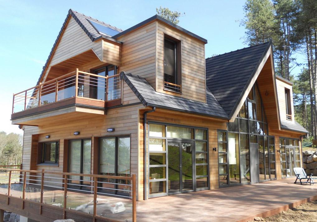ossature bois dans le PasdeCalais  la maison bois par maisonsbois ~ La Maison Ossature Bois