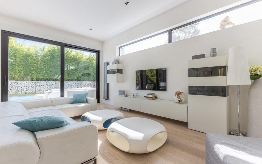 Architecture épurée et design minimaliste pour une maison ossature bois du Groupe Futura