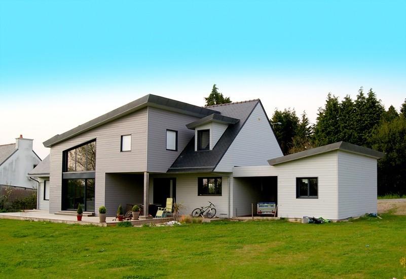 Constructeur de maison en bois dans le finistere ventana for Constructeur de maison individuelle ossature bois