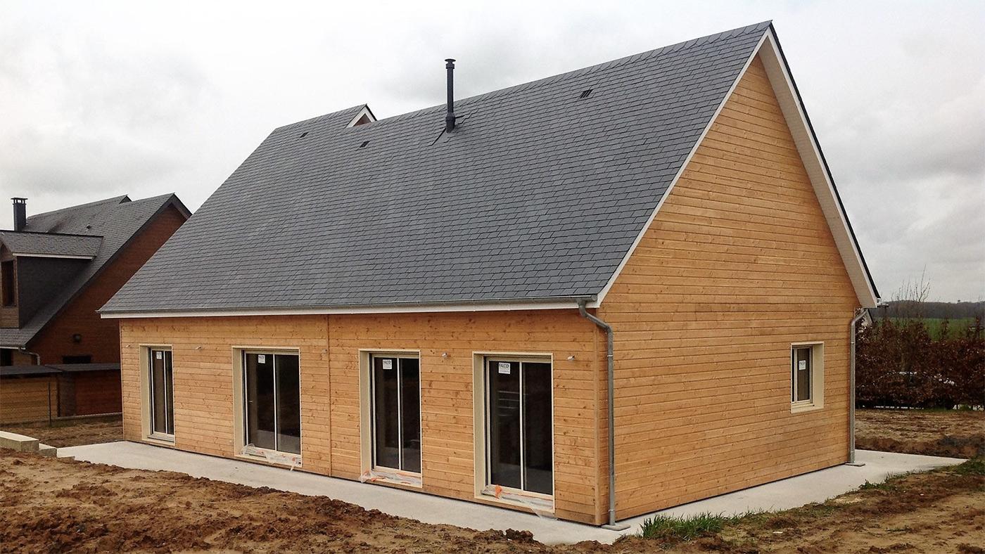 Maison En Bois Normandie gipim - habitats durables, construction de maisons bois en