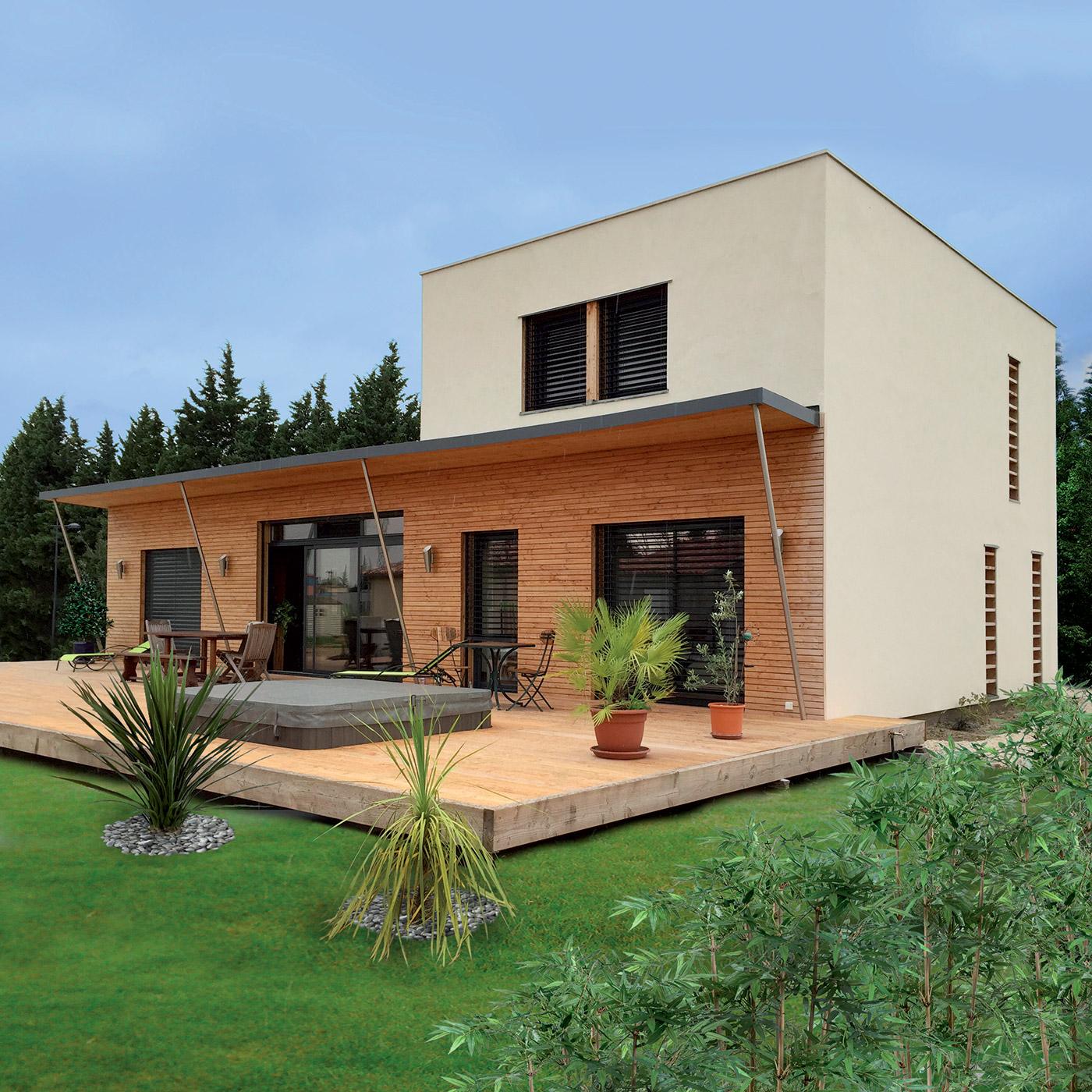 Construire maison bioclimatique bois ventana blog Maison et construction