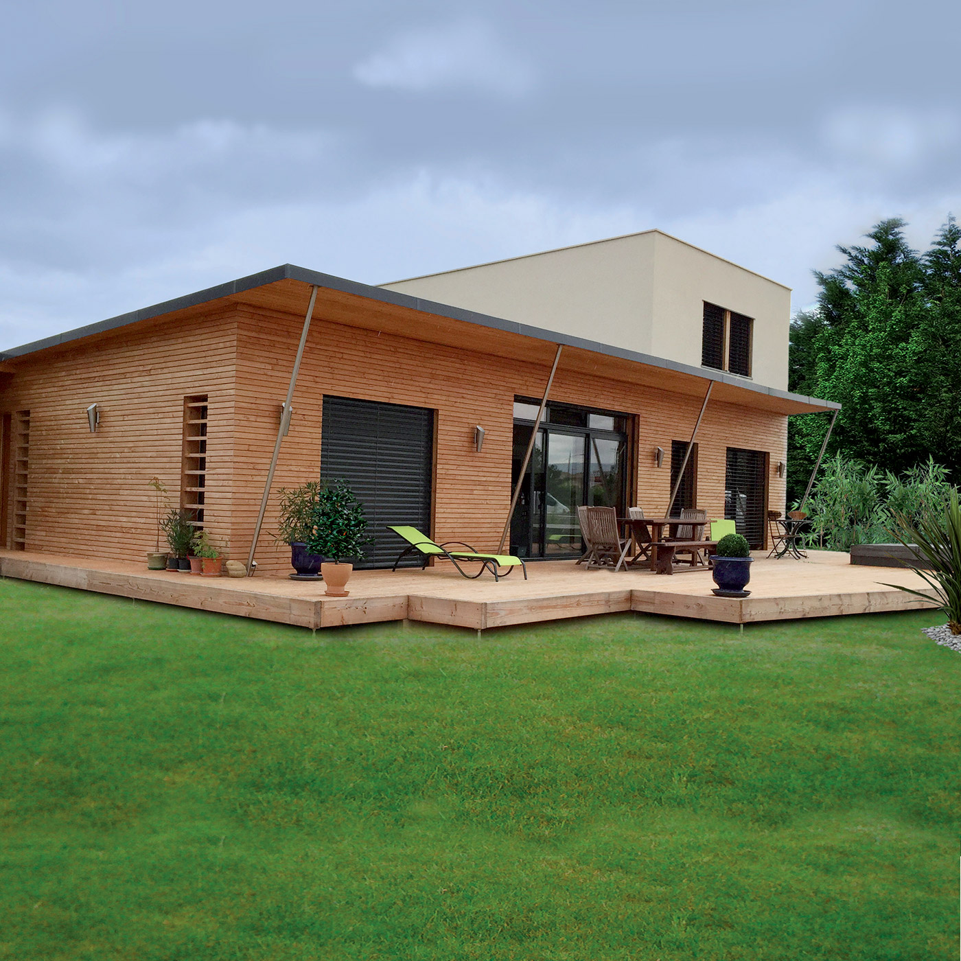 Constructeur maison ossature bois morbihan ventana blog for Bois construction maison