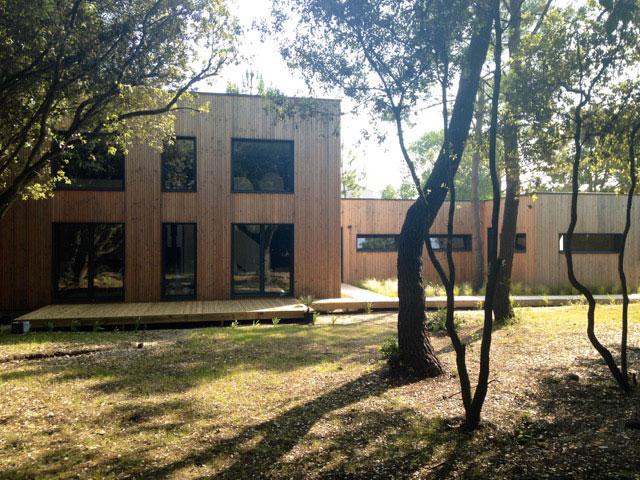 « La Belle Planque ›› maison d'un architecte construite par Projet Bois