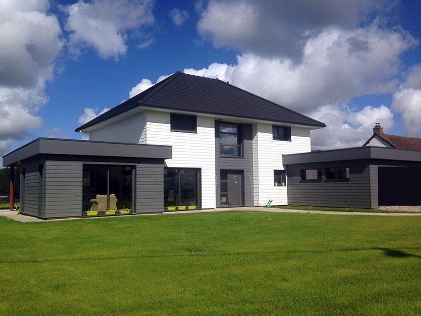 Maison ossature bois claude vasseur la maison bois par maisons - Comment tester la terre d une maison ...