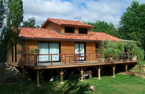 Beca, maisons ossature bois en Vendée