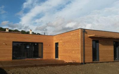 Maison bois «Elégance Technika» par Villa Bois Provence