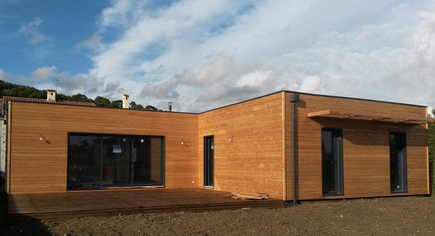 Villa bois for Villa ossature bois