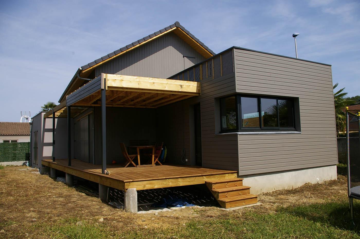 Maison Ossature Bois Vosges maison à ossature bois type caissons selon yves laborde dans