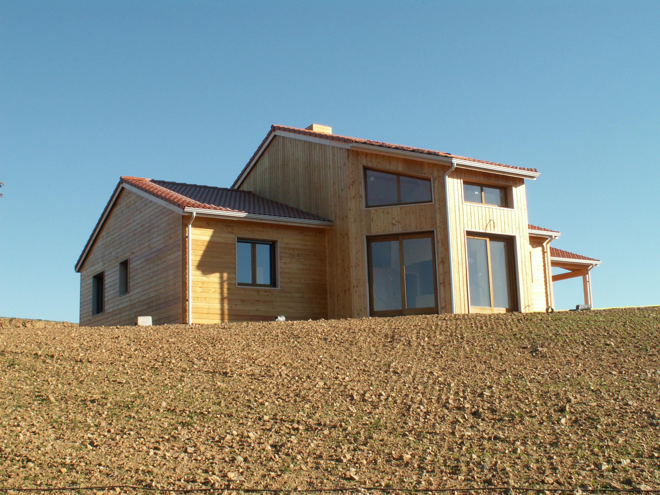 Constructeur Maison Ossature Bois 76 villa nature, construction sur mesure de maisons en ossature