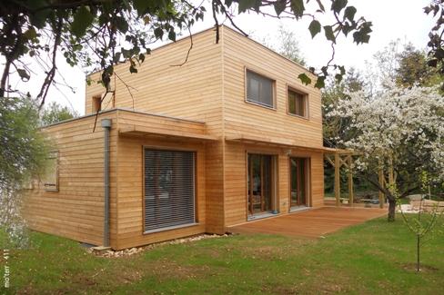 Mio'Terr a conçu plus d'une vingtaine de maisons bois BBC Effinergie