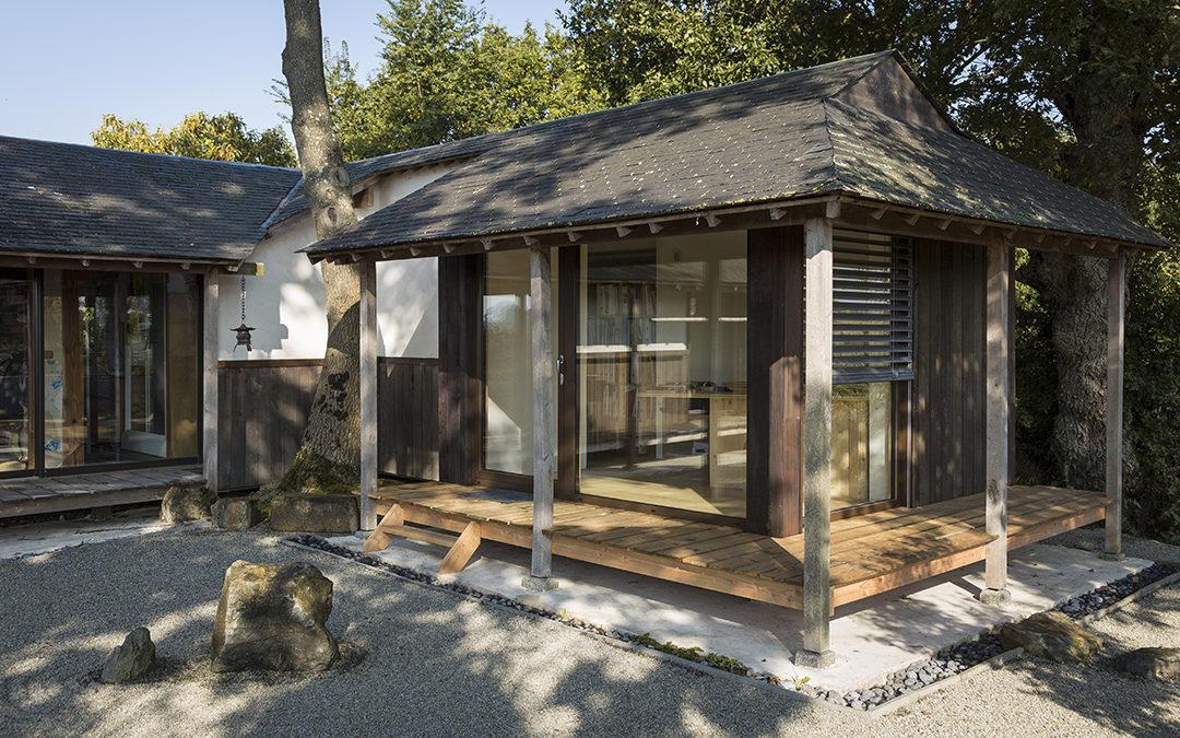 Mizu : une extension bois, petite mais passive !