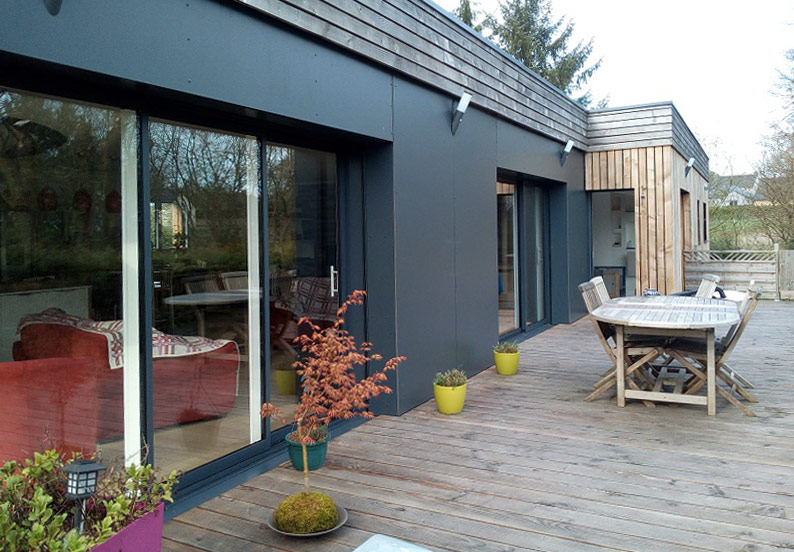 Mobic maisons bois, constructeur de maisons ossature bois à forte innovation technologique