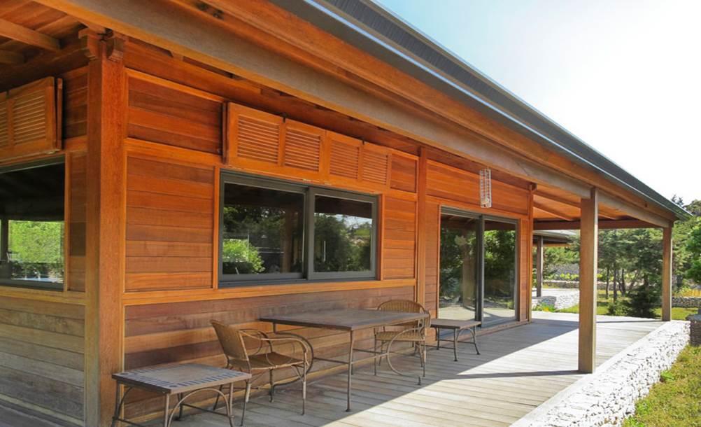 Mobiteck sp cialiste des maisons en bois en kit la for Maison en bois image