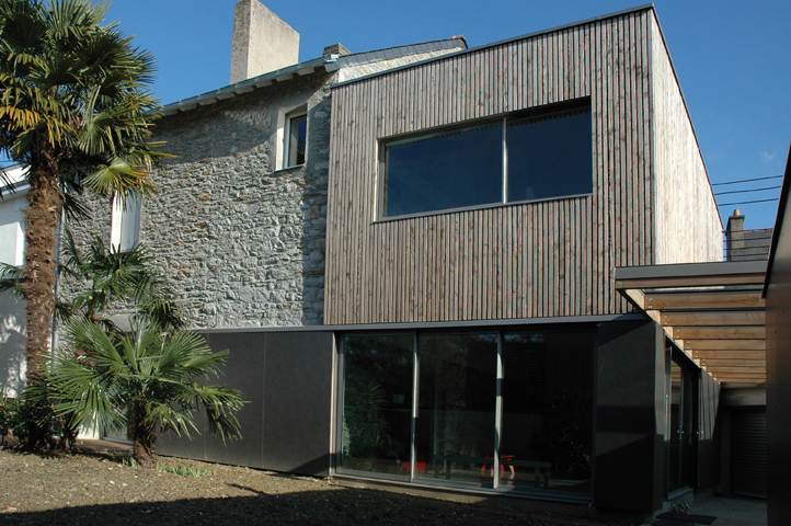 Agrandir avec le bois extensions et sur l vations la maison bois par mais - Comment faire agrandissement bois ...