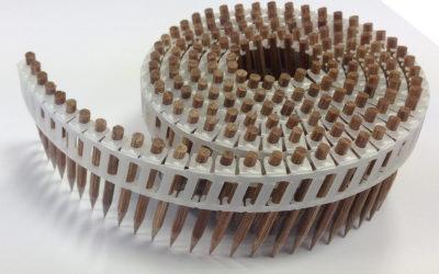 Des pointes en bois pour réduire la présence de métal dans les maisons bois