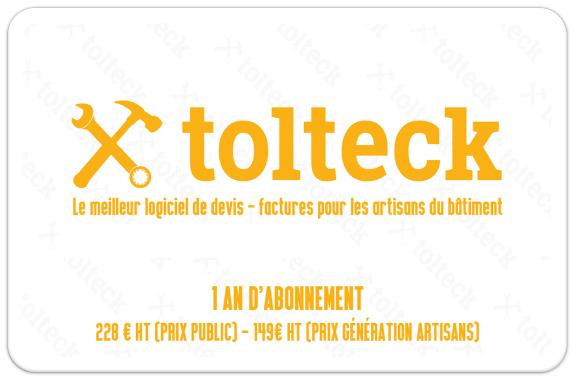 Tolteck, un logiciel de devis disponible par abonnement chez POINT.P