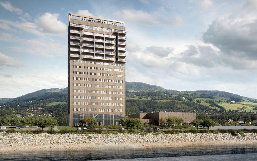 Le plus haut bâtiment en bois du monde est en cours de construction en Norvège