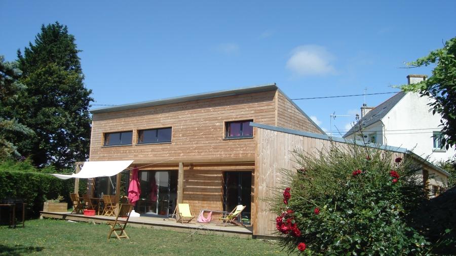 Le Gallo Maison bois, construction à ossature bois en Bretagne