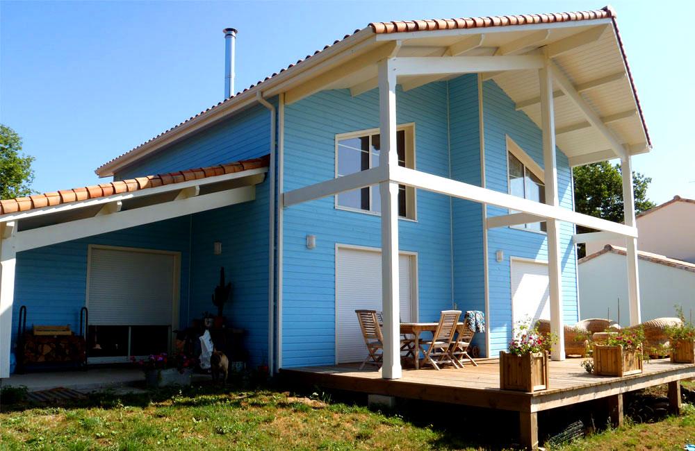 Maison bois en Vendée par Vie Bois
