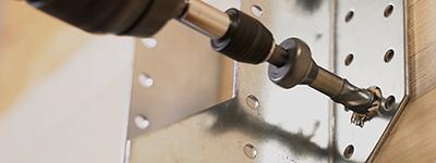 Nouvelle vis SSH de Simpson Strong-Tie pour la fixation des connecteurs bois