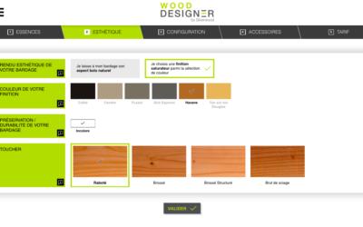 Wood Designer by Silverwood : le premier configurateur de bardages bois en ligne